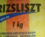 Glutént tartalmazó rizslisztet hívott vissza a hatóság