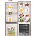 A hűtőszekrény élelmiszer-biztonsági szempontból helyes berendezése