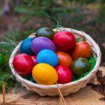 Piros tojást, hímes tojást biztonságosan
